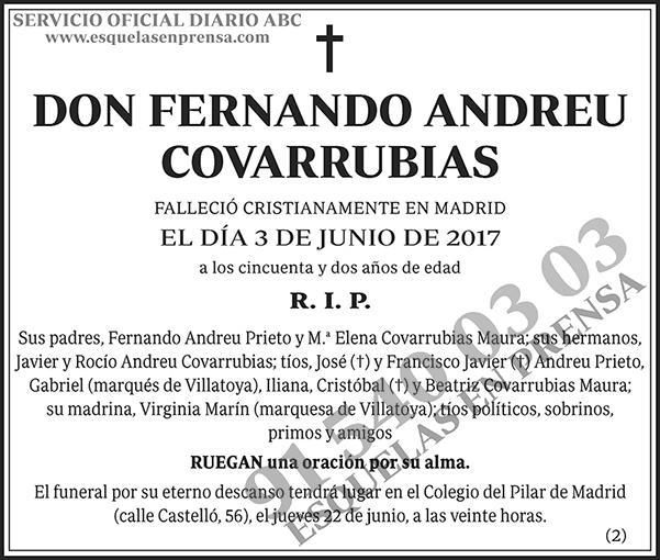 Fernando Andreu Covarrubias